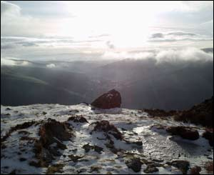 Chris Wright took this picture on Cadair Idris on a break from exam revision