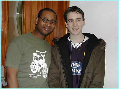 Matt catches up with old pal Lizo and chats Potter in the Newsround studios