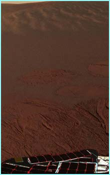 This one's in colour. This area of Mars is known as Meridiani Planum