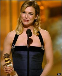 Renee Zellweger thanked her director Anthony Minghella for casting her.