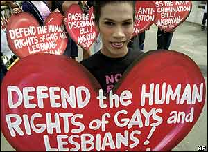 Filipino gay protest