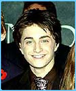 Dan Radcliffe plays Harry Potter
