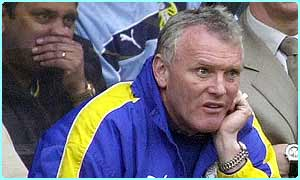 Leeds caretaker boss Eddie Gray