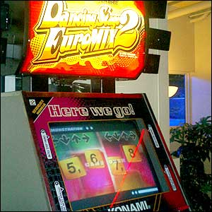 Dancing Stage arcade machine