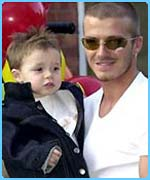 Becks with Brooklyn