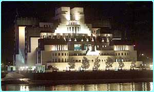 This big building is the home of MI6