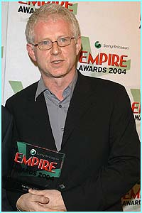 Richard Curtis, who directed Four Weddings and a Funeral and Notting Hill, collected the best British film award for Love Actually.