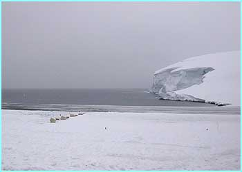 ... and this is what Antarctic looks like on a bad day!