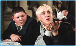 Tom Felton as Draco Malfoy in the Prisoner of Azkaban