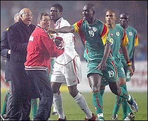 Lemerre vs Senegal Spieler