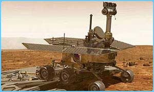 The Mars rover Spirit has a twin called Opportunity