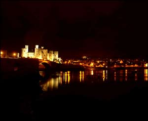 Gareth Owen from Llandudno took this shot of Conwy castle with his new digital camera