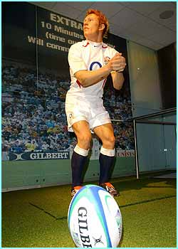 A waxwork version of rugby hero Jonny Wilkinson has been unveiled at Madame Tussauds in London. Visitors will be coached on how to copy his kicking pose!