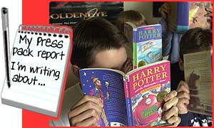 Reading Potter books helped Katrin learn better English