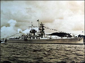 The Graf Spee in 1939