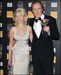Best supporting actor winner Bill Nighy joked the award had made