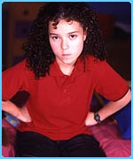 Tracy Beaker lives in care