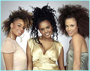 Enrap-ture are Kelly, Mercedes and Stacey, an R&B trio from three different countries - England, Norway and Denmark
