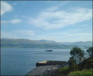 A view from Beaumaris, sent in by Keith Mitchell from Rhyl