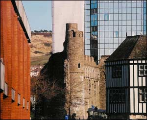 Huw Webber took this picture of old and new in Swansea