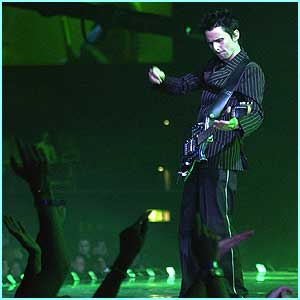 Muse rocked out Earls Court with their performance of Hysteria, but came away empty-handed.