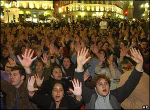 Anti-Eta protest in Madrid