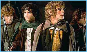 Hobbits in the LOTR films