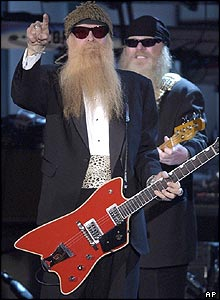 Billy Gibbons, left, and Dusty Hill