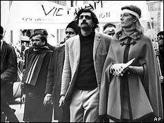 Tariq Ali and Vanessa Redgrave