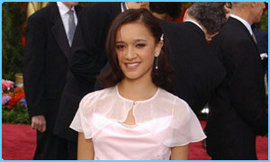Keisha Castle-Hughes at the Oscars