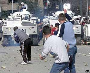 Clashes in Mitrovica