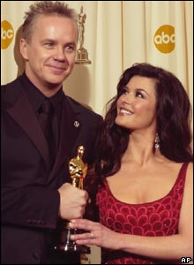 Tim Robbins and Catherine Zeta Jones
