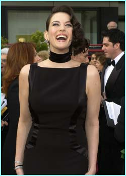 LOTR actress Liv Tyler kept it simple in black