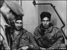 British Army prisoners captured by the Germans at Arnhem, Holland