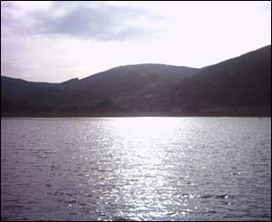 A view of the Brecon Beacons from the Talybont Resevoir (Steve Marsh from Penarth)