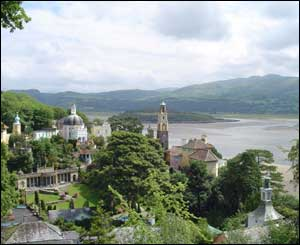Richard Bridge from Birmingham sent this shot of Portmeirion in north Wales
