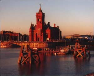 Keith H. Clarke, from Brooklyn, New York, sent this picture of Cardiff Bay