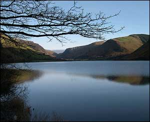 The serene scene at Tal-y-llyn was sent in by Bruce Falcon
