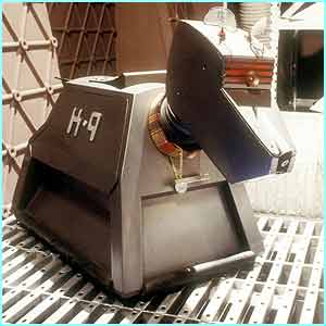 Also from Dr Who, K9 was the Doctor's trusty side-kick robot dog.