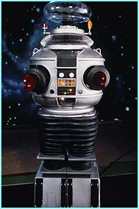 From the 1960's TV show, Lost in Space, Robot helped the Robinson family.