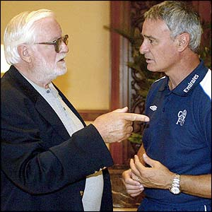 Ken Bates and Claudio Ranieri