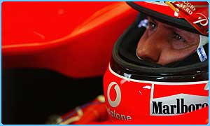 Michael Schumacher is the defending champion