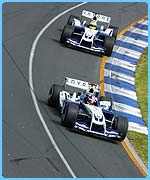 The two Williams drivers will be near the front