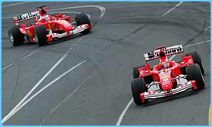 Michael Schumacher won the Australian Grand Prix