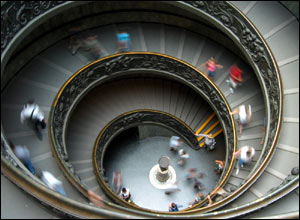 'Spiral staircase' by Andrew Dopheide