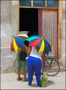 'Cuban shapes and colours' by Jo Brunenberg