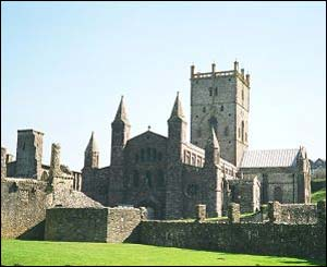 Mike Allen from Canada took this scenic shot of St David's Cathedral
