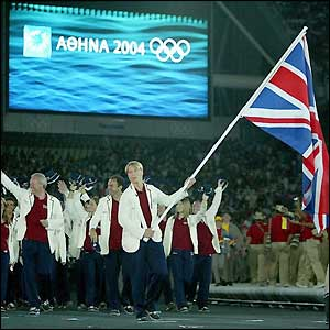 Sydney silver medallist Kate Howey is Great Britain's flag bearer