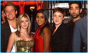 Some of the EastEnders cast
