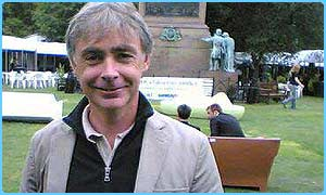 Eoin Colfer at the book festival